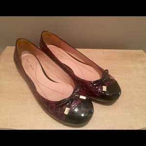 Classic Kate Spade Patent Leather Flats Size 9